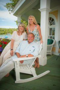 Doug, Lydia and Sara B. Yoder